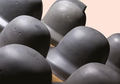 Police helmet moulds